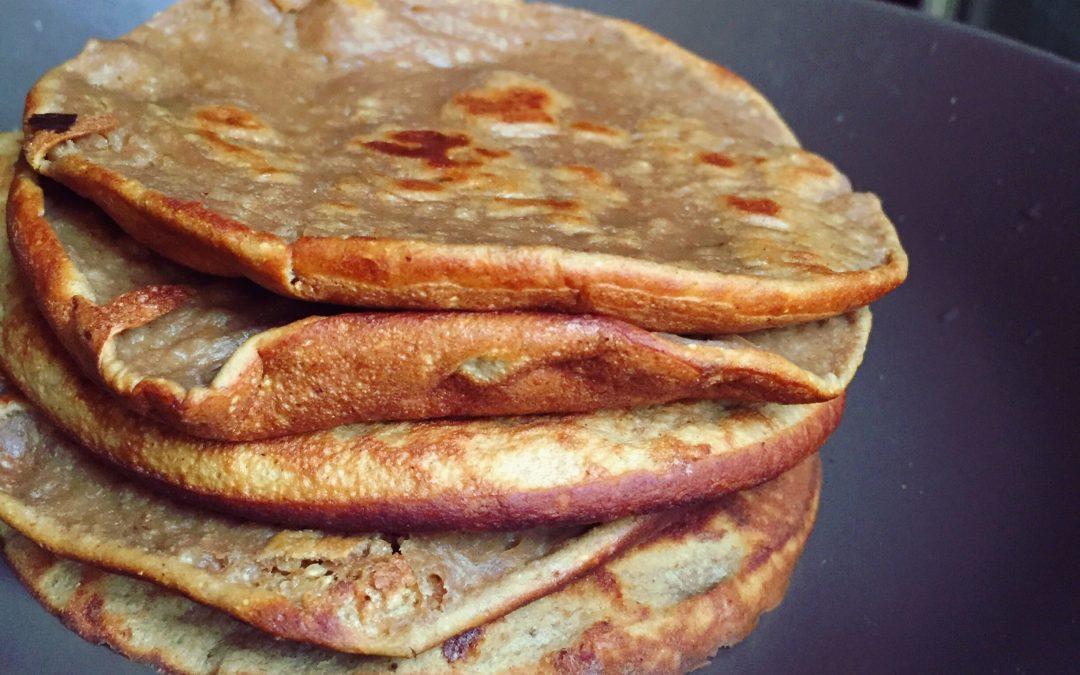 Pancakes di patate dolci