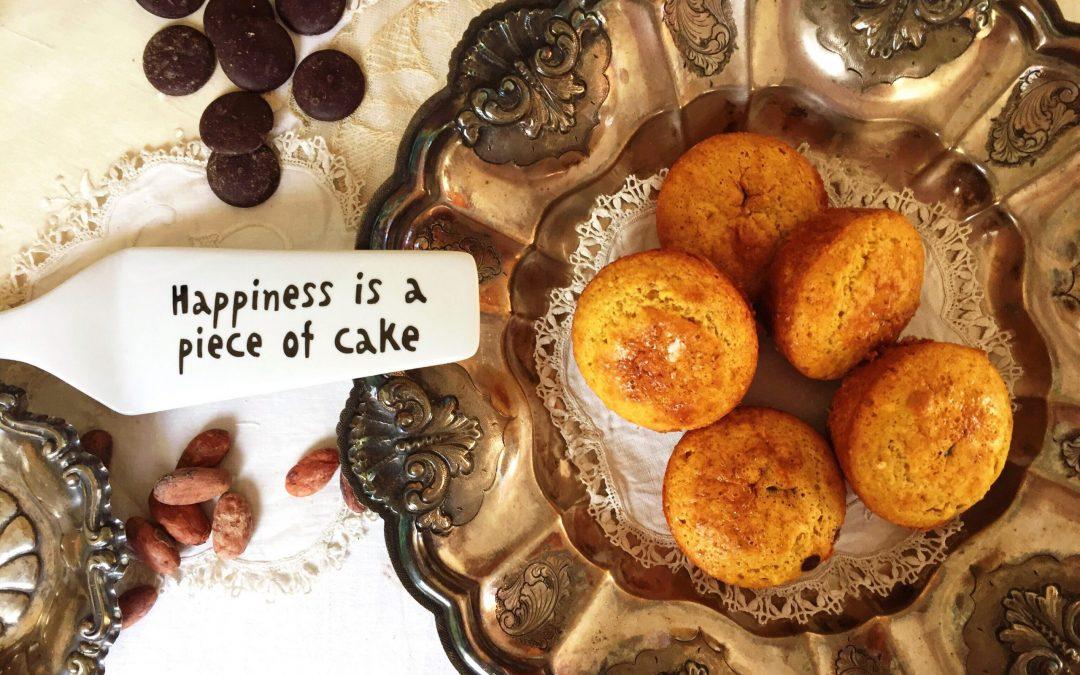 Muffin di avena e arachidi