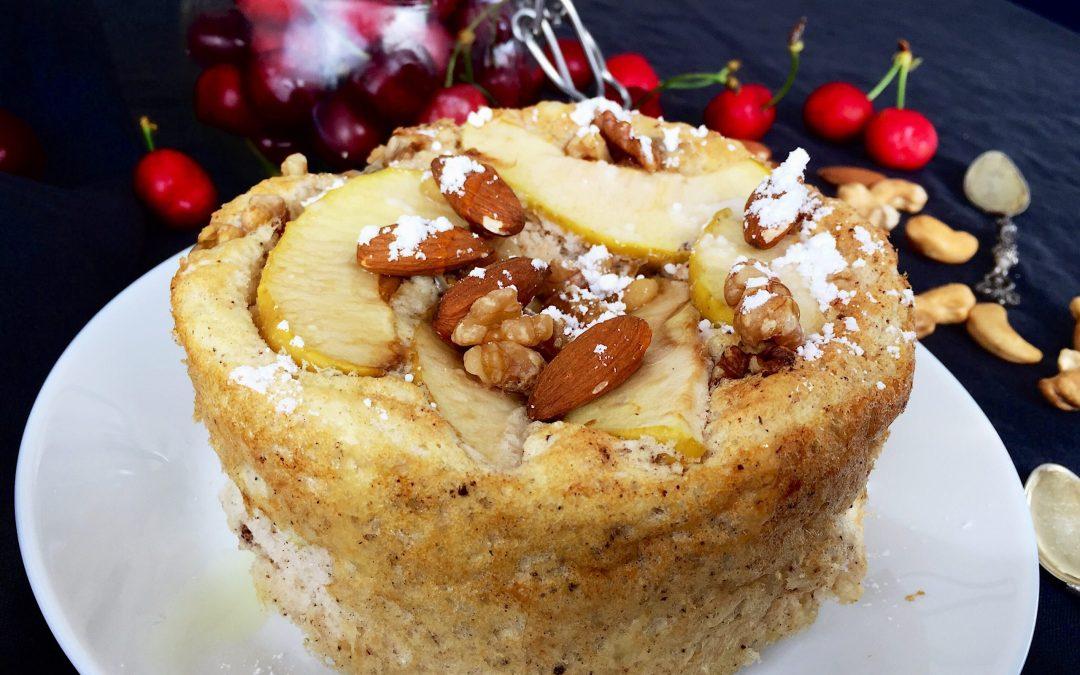 Torta di mele fit
