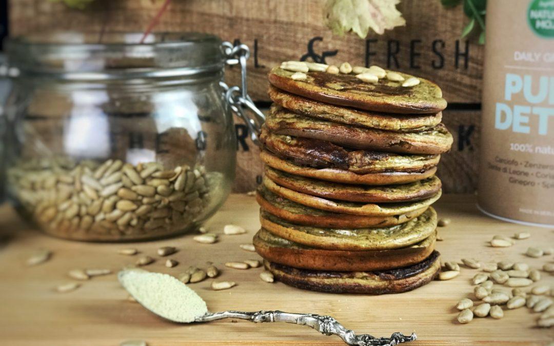 pancakes proteici al profumo di zenzero
