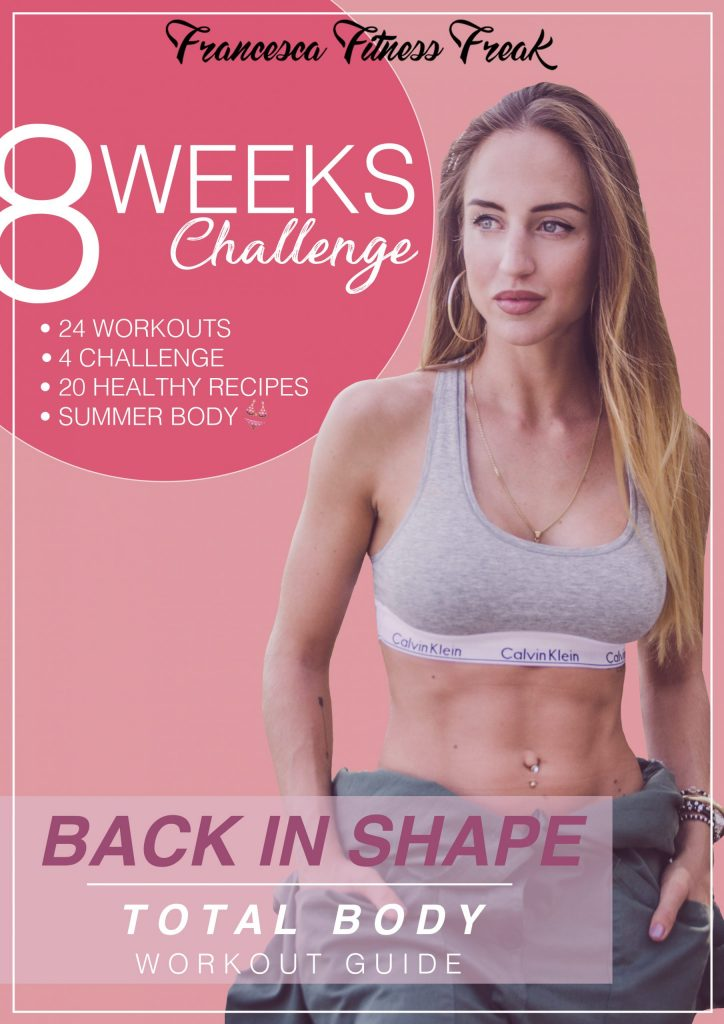 guida workout back in shape