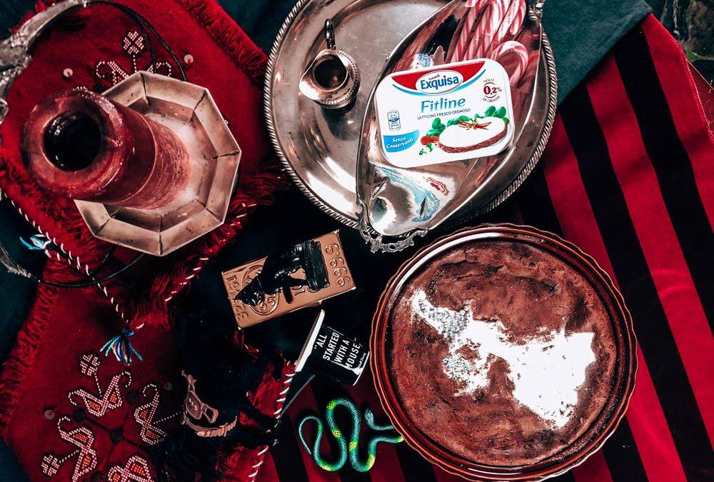 Torta zucca e cioccolato light