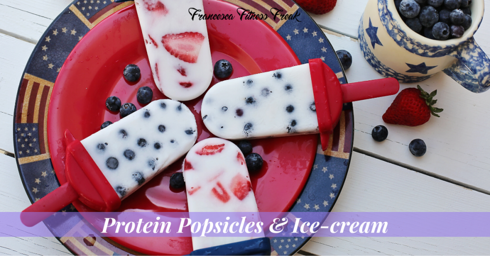 High Protein Popsicles and Ice-cream
